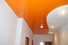 Мини для статьи Цветной натяжной потолок